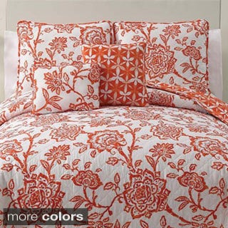 VCNY Jordin 5-piece Reversible Quilt Set
