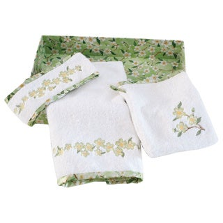 Bella & Bliss Embroidered Bath Facial Set
