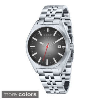 CCCP Men's Shchuka Automatic Stainless Steel Bracelet Watch