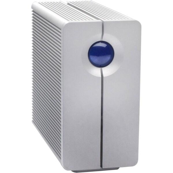 LaCie 2big Quadra DAS Array - 2 x HDD Supported - 8 TB Installed HDD