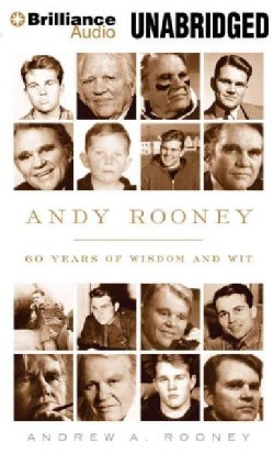 Andy Rooney: 60 Years of Wisdom and Wit, Library Edition (CD-Audio)