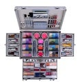 Shany Carry-all Trunk Professional Makeup Kit with Train Case
