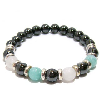 'Free to Be' Natural Stone Positive Energy Bracelet