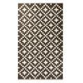 Handwoven Cross Wool Rug (India)