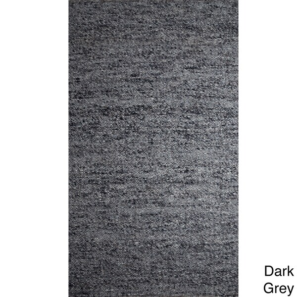 Handwoven Loose Weave Rug (India)