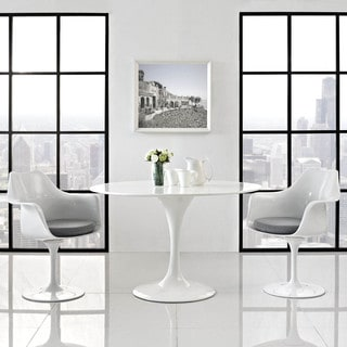Lippa White/ Grey Dining Chair (Set of 2)