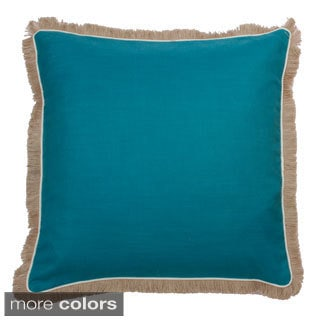 Dean Fringe Throw Pillow