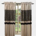 Sherry Kline True Safari Taupe 84-inch Curtain Panel Pair