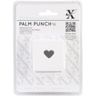 Medium Palm Punch-Traditional Heart