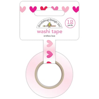Washi Tape 15mm 12 Yards/Roll-Endless Love