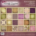 "Heartfelt Double-Sided Paper Collection 12""X12"" 24/Sheets-Burst Of Splendor, 12 Designs/2 Each"