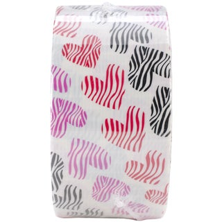 """Patterned Duck Tape 1.88""""X10yd-Animal Hearts"""