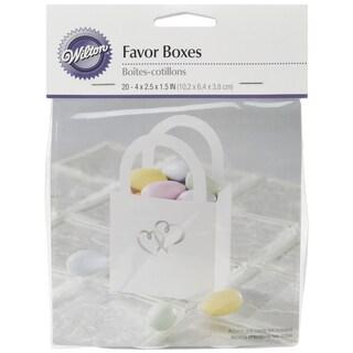 Favor Bags W/Handle 20/Pkg-Sweetheart