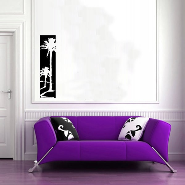 Beach Palms Vinyl Wall Decal Sticker