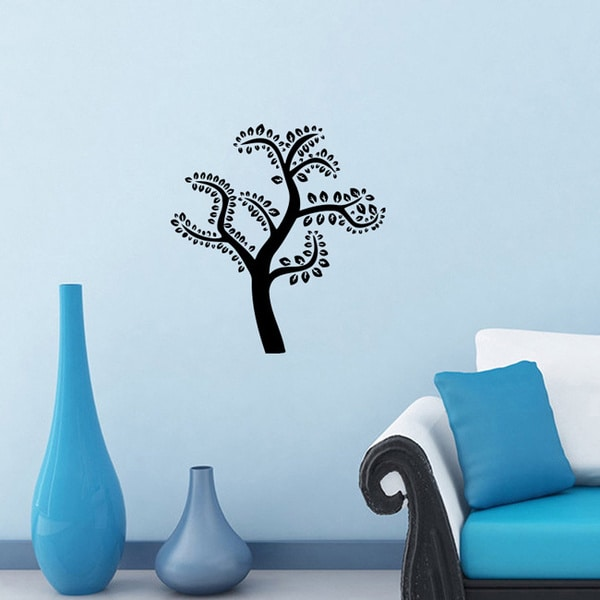 Tree Leaves Life Wall Vinyl Decal Art Mural