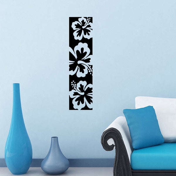 Unusual Flowers Vinyl Wall Decal Sticker