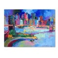 Richard Wallich 'Brooklyn' Canvas Art