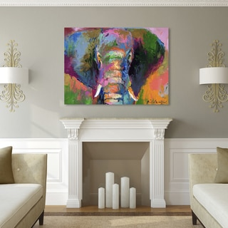 Richard Wallich 'Elephant 2' Canvas Art