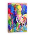 Richard Wallich 'Elephant 1' Canvas Art