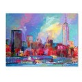 Richard Wallich 'Empire' Canvas Art