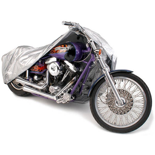 Oxgord Sunproof Outdoor Motorcycle Cover for Sport Bikes, Cruisers, Choppers, and Scooters