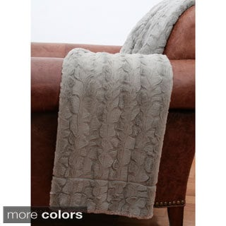 Reagan Rabbit Faux Fur Throw