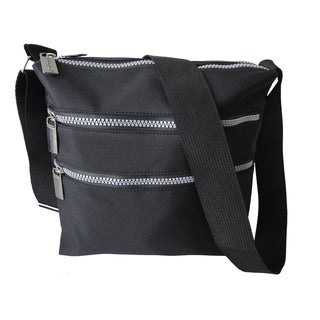 Roberto Amee Microfiber Cross Body Bag