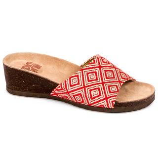 Muk Luks Women's 'Lea' Slide Wedge Sandals