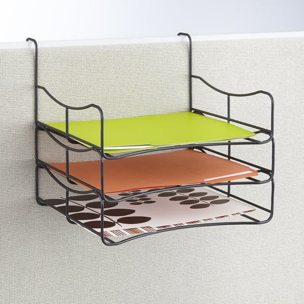 Wire Panel Accessories Triple Tray