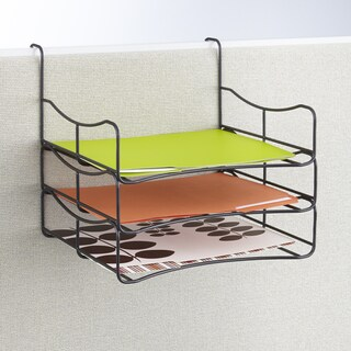 Wire Panel Accessories Triple Tray