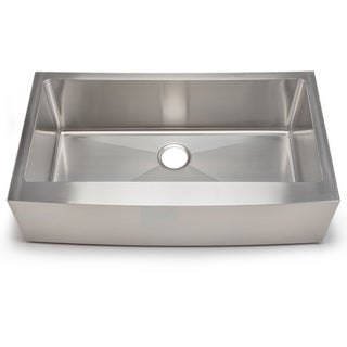 Hahn chef series handmade extra large single farmhouse overstock shopping great deals on - Extra large farmhouse sink ...