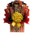 Movie Night Popcorn Chocolate/Candy Bouquet