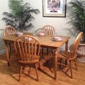 Whitaker Furniture Burnished Oak 5-piece Dining Set