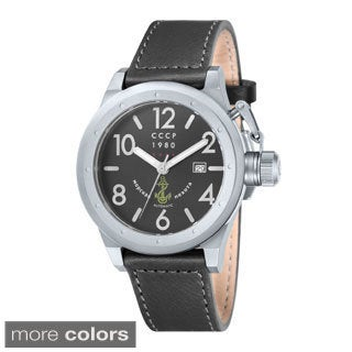 CCCP Men's 'Delta' Automatic Stainless Steel Watch