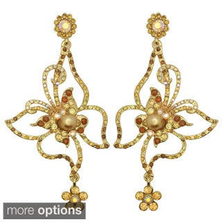 Kate Marie 'Tamara' Base Metal Divine Look Fashion Earrings