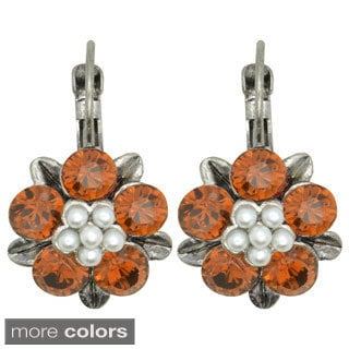 Kate Marie 'Wendy' Rhinestone Fashion Earrings