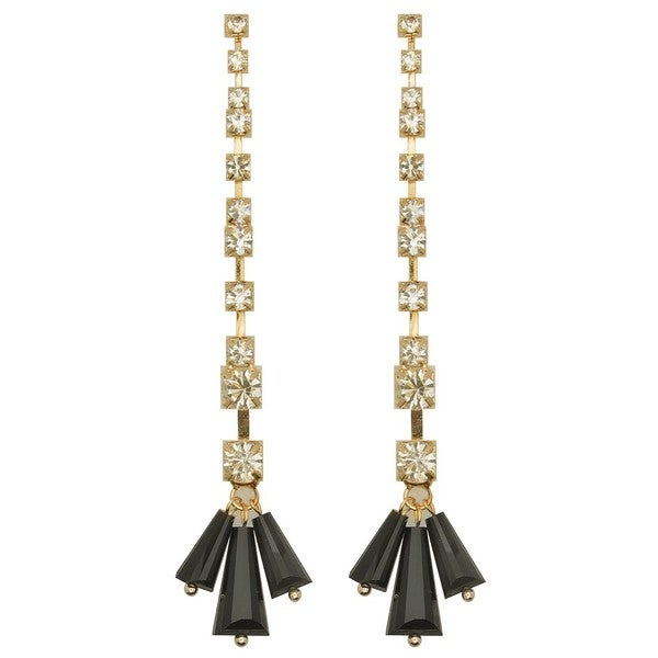 Kate Marie 'Tina' Base Metal Gold Fashion Earrings