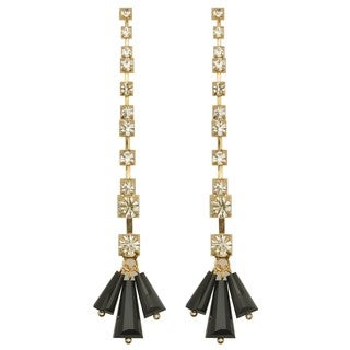 Kate Marie 'Tina' Base Metal Gold Fashion Earrings