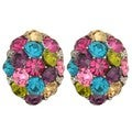 "Kate Marie 'Tara"" Fashion Multi-color Earrings"