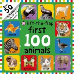 First 100 Animals (Board book)