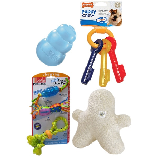 New Puppy Toy Gift Set