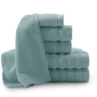 Pure Elegance Turkish Cotton 6-piece Towel Set