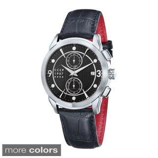 CCCP Men's Limited Edition Sputnik1 Dress Chronograph Watch