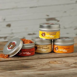 Sauce Goddess 4-pack Spice Rubs