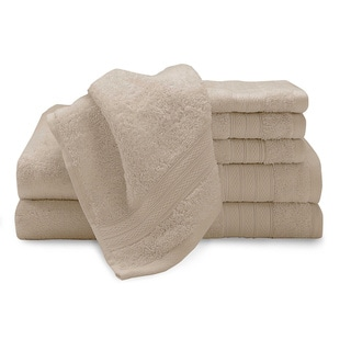 Chelsea Low Twist Cotton 6-piece Towel Set