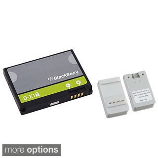 Insten Battery Charger with USB Output/ Blackberry Standard OEM Battery D-X1 / BAT-17720-002 for BlackBerry Curve 8900/ 9500