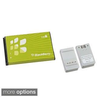 Insten Battery Charger with USB Output/ Blackberry Standard OEM Battery C-X2/ BAT-11005-001 for BlackBerry 8800/ 8820/ 8350i