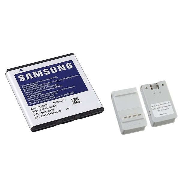 INSTEN Samsung Fascinate Standard Battery OEM EB575152YZ A/ Charger