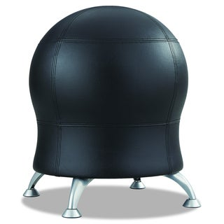 Zenergy Black Vinyl Ball Chair