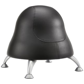 Runtz Black Vinyl Ball Chair